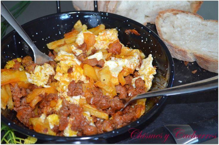 Huevos rotos con Jijas   Comparterecetas.com