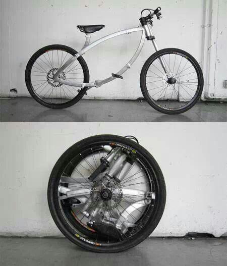 Plooibare fiets