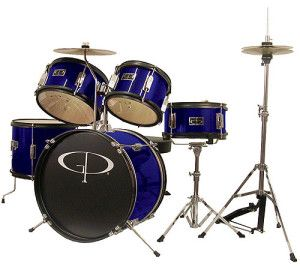 GP Percussion Junior Drum Set - for 3 to 9 year olds, very attractive price tag