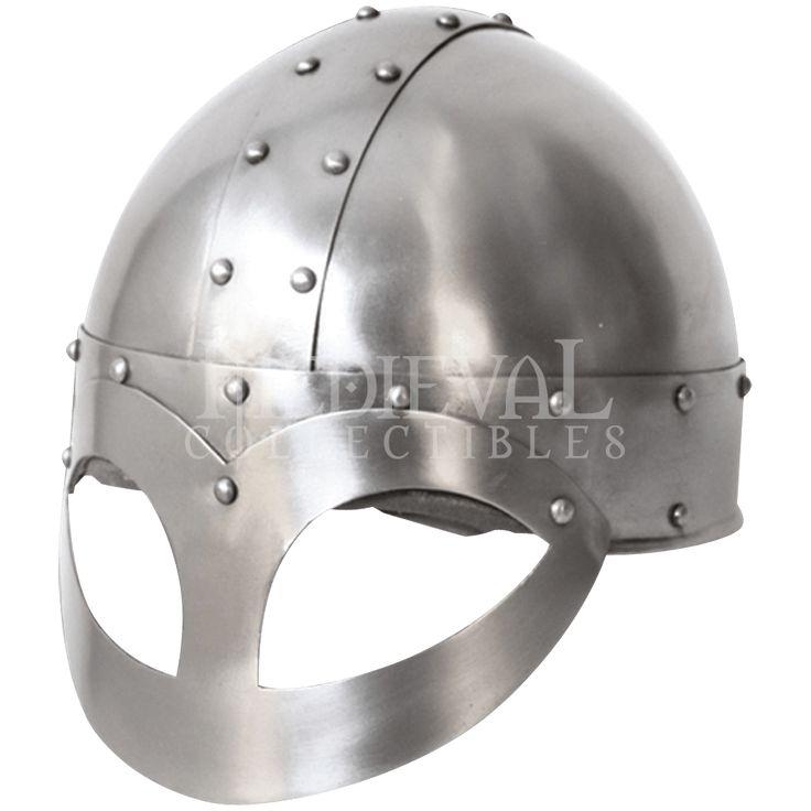 Fredrik Steel Viking Helmet - MY100611 from Medieval Armour