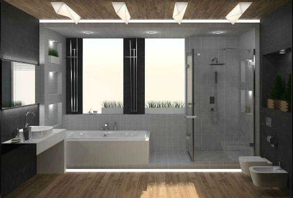 Фото дизайна ванных комнат в коттедже