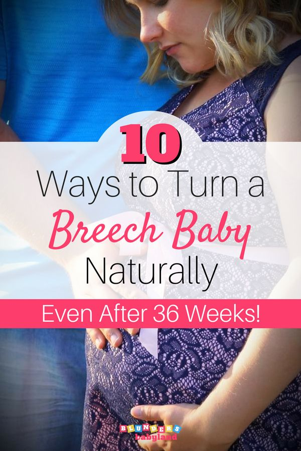How To Turn A Breech Baby Naturally After 36 Weeks With Images