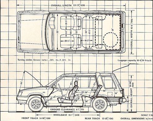 Toyota Tercel 4WD Estate (1985) | SMCars.Net - Car Blueprints Forum