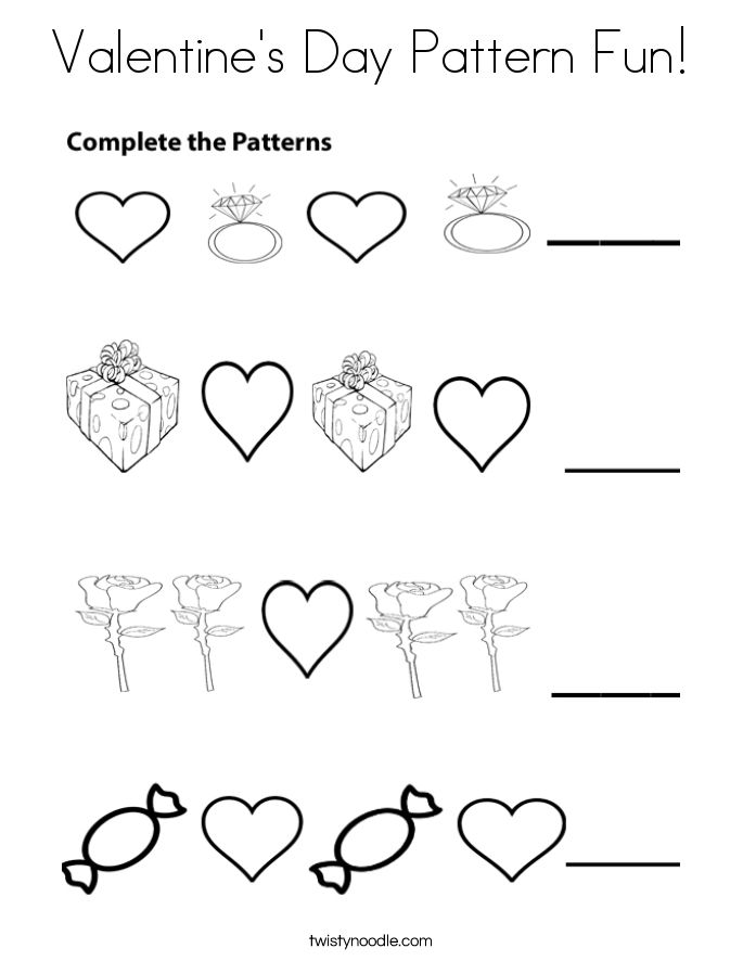 Valentines Coloring Pages For Fun