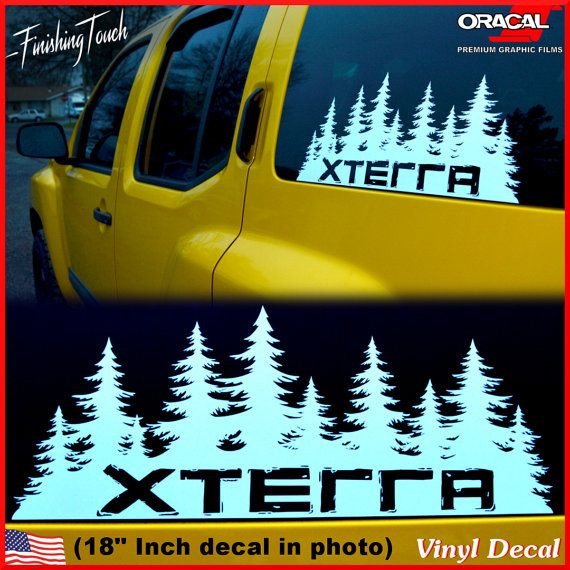 Best Nissan Xterra Pro X Ideas On Pinterest Used Nissan - Hunting decals for trucksonestate rack attack truck van window vinyl decal sticker