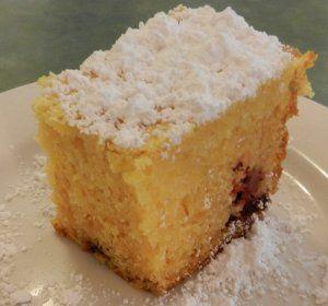 Slow Cooker Raspberry Lemon Cake
