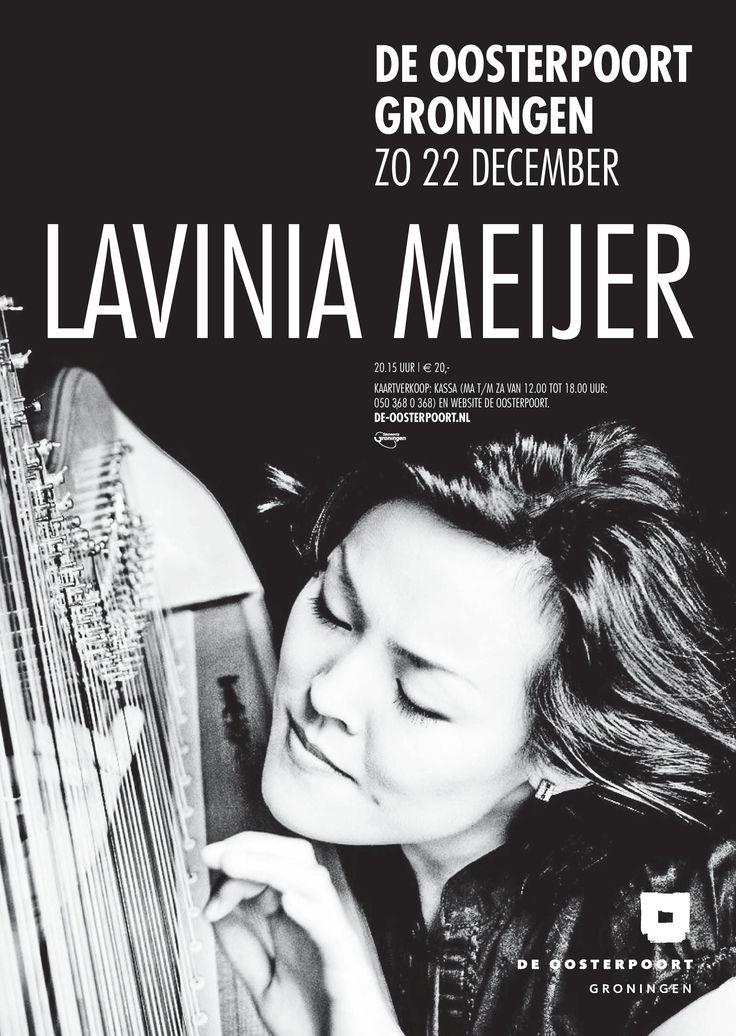 Lavinia Meijer heeft er hoogstpersoonlijk voor gezorgd dat de harp weer hip is. Haar cd Metamorphosis-The Hours', met werk van Philip Glass, is nu al een van de best verkochte 'klassieke' cd's aller tijden in Nederland. Tijdens dit concert speelt Meijer onder meer een eigen bewerking van de muziek die Glass schreef voor de film 'Koyaanisqatsi', werk van Ludovico Einaudi en een nieuwe compositie die Jacob ter Veldhuis voor haar schreef.