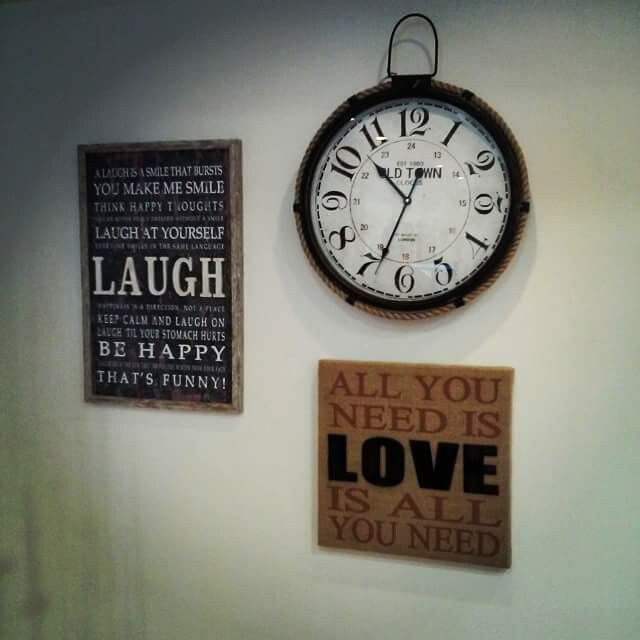 #clock #love #laugh