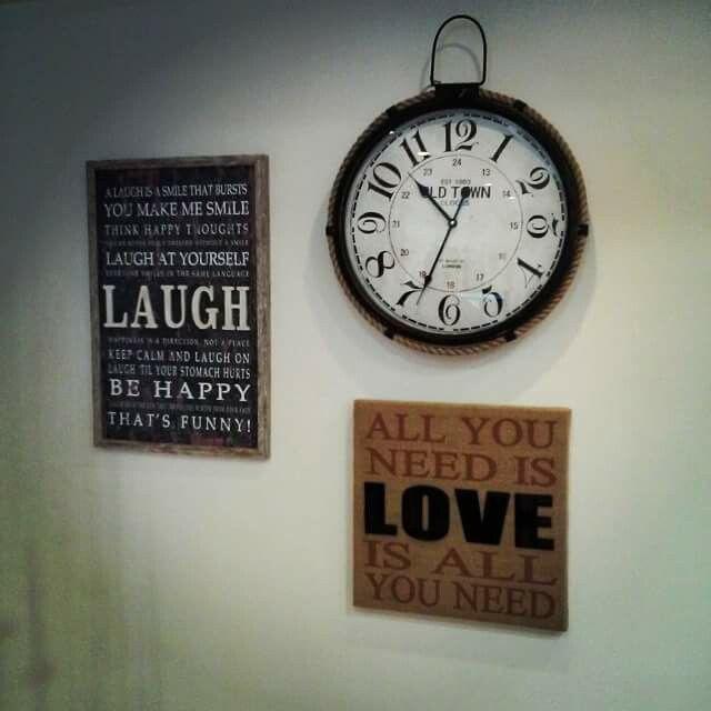 #clock #love #laugh