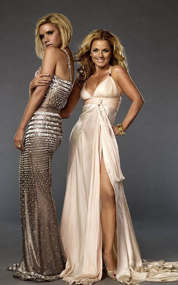 Victoria Beckham & Geri Halliwell