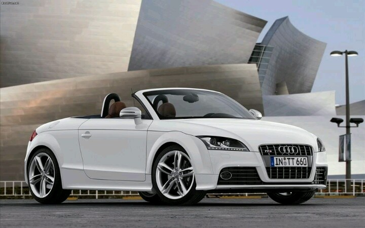 The Audi convertable