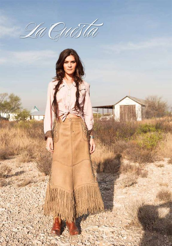 Double D Ranch - every cowgirl needs a leather skirt...for those special occasions