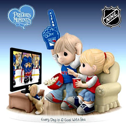 Every Day Is A Goal With You - New York Rangers Figurine