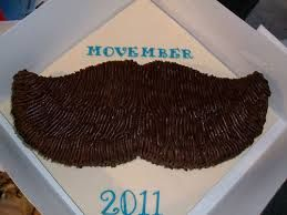 MOVEMBER cake idea that is simple and easy
