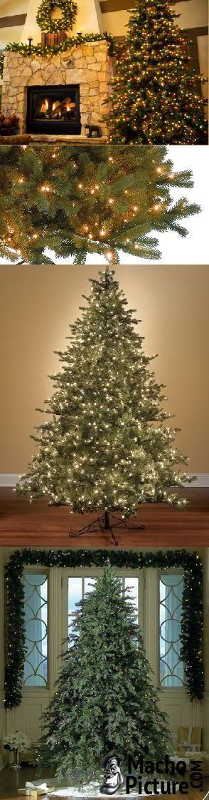 Artificial prelit christmas trees - 5 PHOTO!