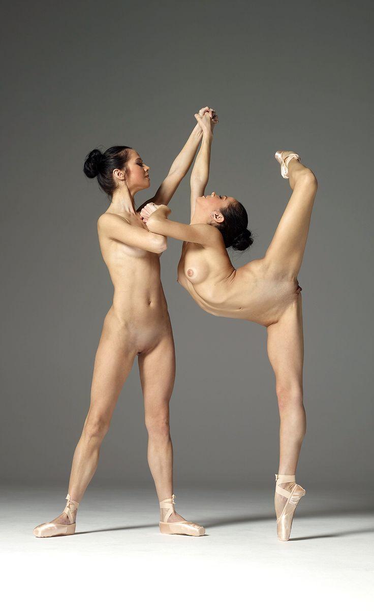 The Gymnastics female anatomy poses
