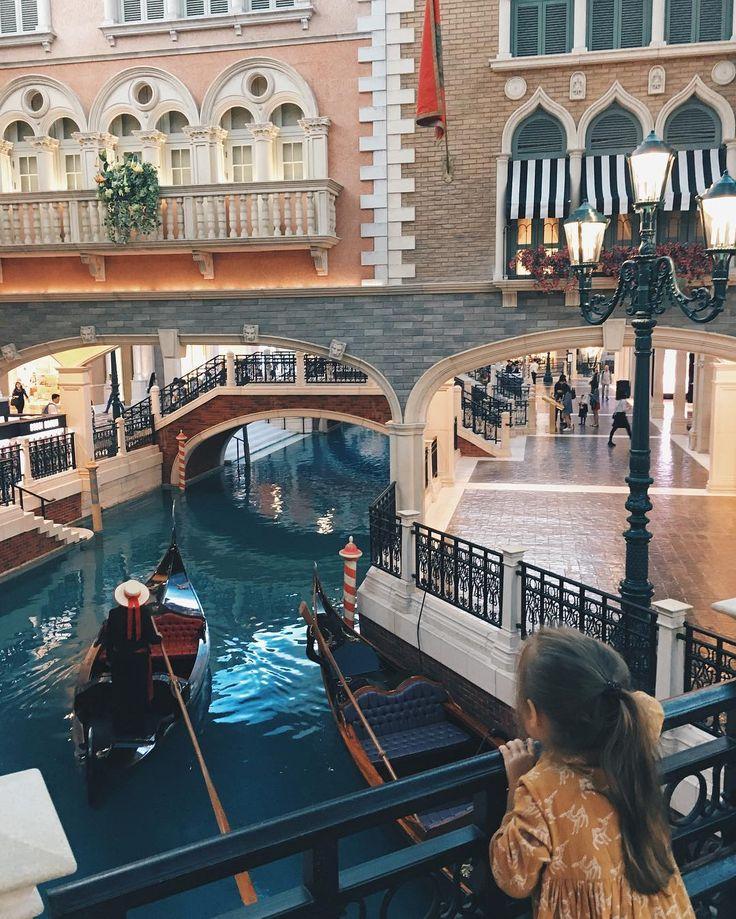 The Venetian gondola ride ~ THE VENETIAN® MACAO RESORT HOTEL - Macao China_ Travel May 18 - 2016.