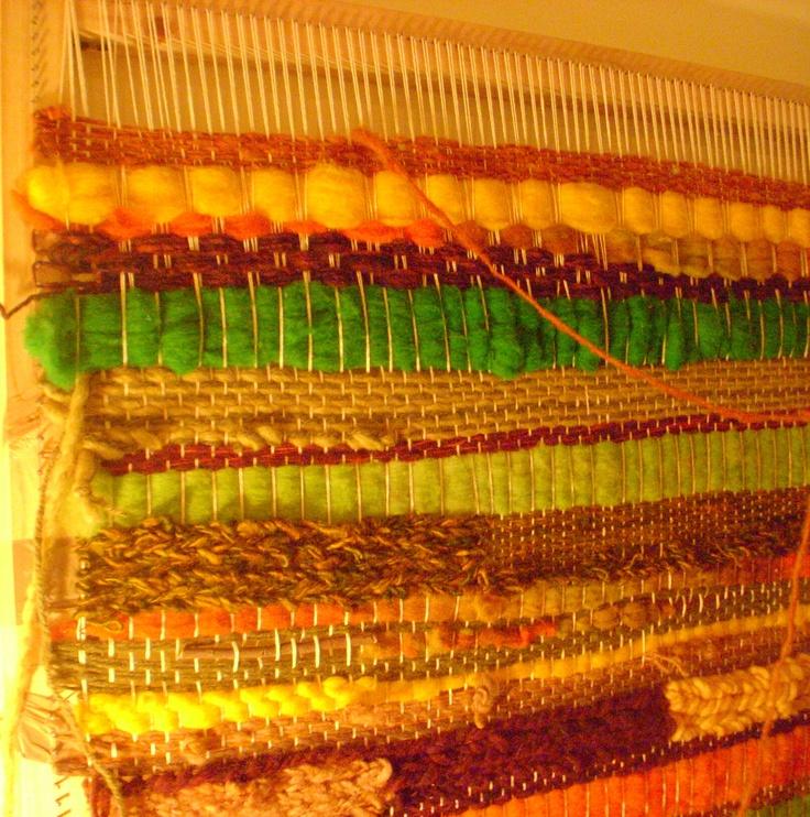 telar de lana. producto Chileno. handmade by chilean woman