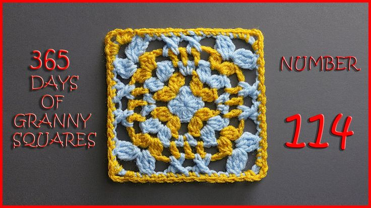 365 Days of Granny Squares Number 114