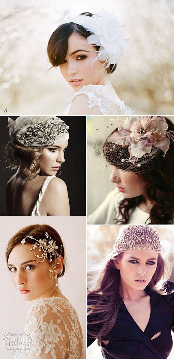 Alternativas originales al velo de novia