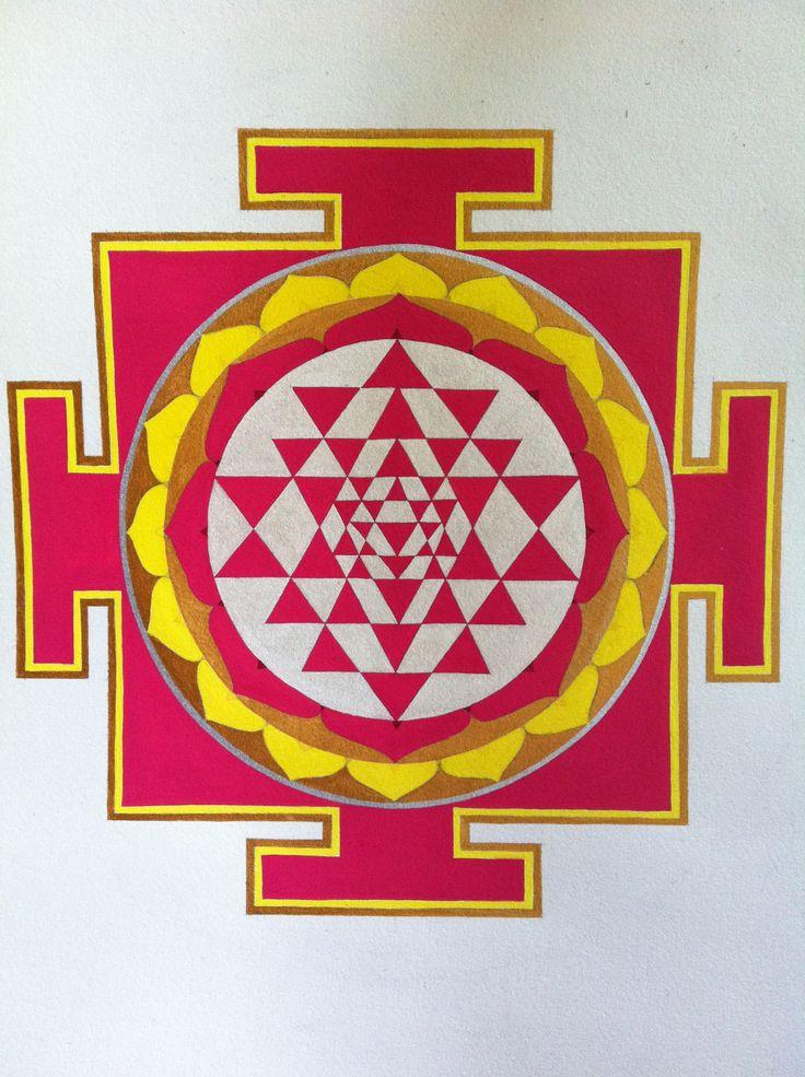 Sri Yantra by Mavis Gewant