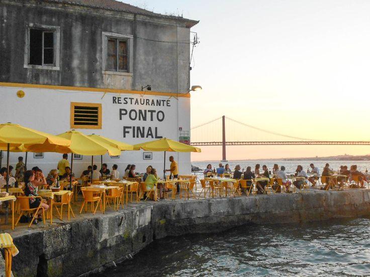 Mes bonnes adresses à Lisbonne : le restaurant Ponto Final et sa vue magnifique