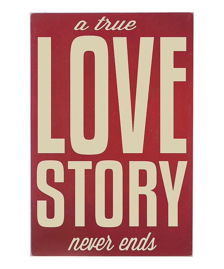 Vinyl Crafts Barn #Red 'Love Story' Wall #Art #zulily