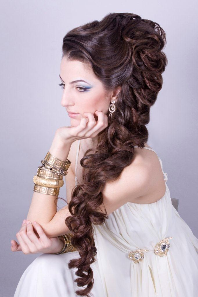 hair styles on black gorgeous and complex mega braid by russian stylist 5937
