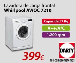 LAVADORA WHIRLPOOL 399 EUROS - ENVIO GRATIS