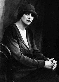 Фаина Раневская в Баку. 1920-е годы.