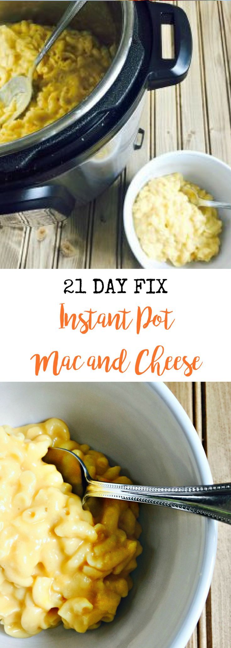 21 Day Fix Instant Pot Mac and Cheese {Gluten-free}   Confessions of a Fit Foodie