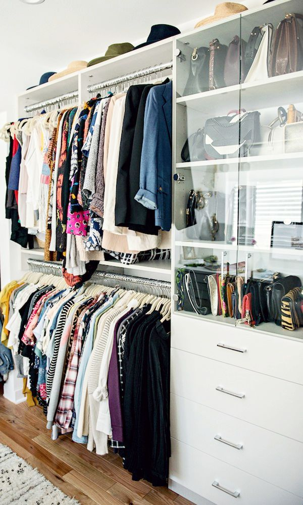 27 Closet Organization Ideas to Copy | How to Organize + Design Your Closet  | built