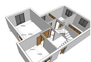 Para dise ar los planos de nuestra casa necesitamos for Planos de casas para construir en mexico