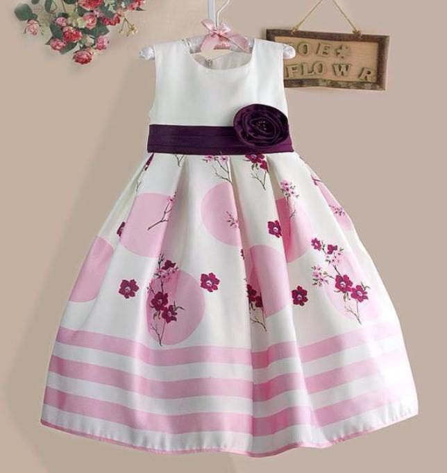 white cotton dress for baby girl