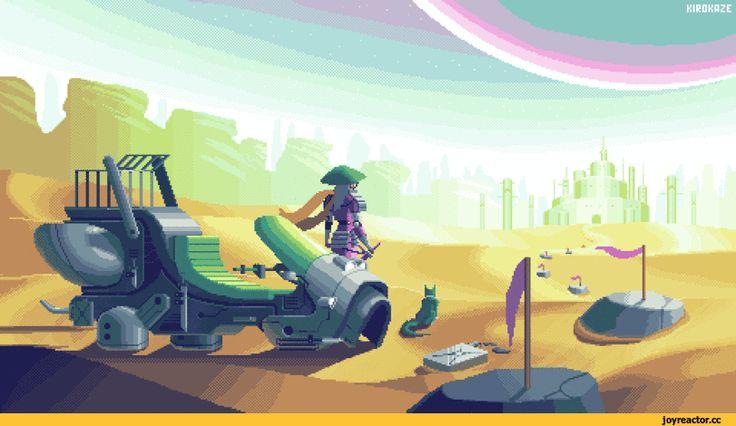 kirokaze,Pixel Gif,Pixel Art,Пиксель Арт, Пиксель-Арт