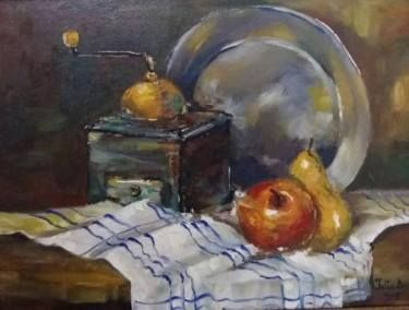 Still Life with a Silver Plate