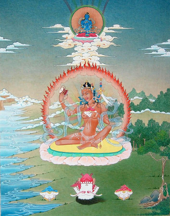 Niguma: Mistress of Illusion | Buddhist art, Buddhist iconography, Tibet art