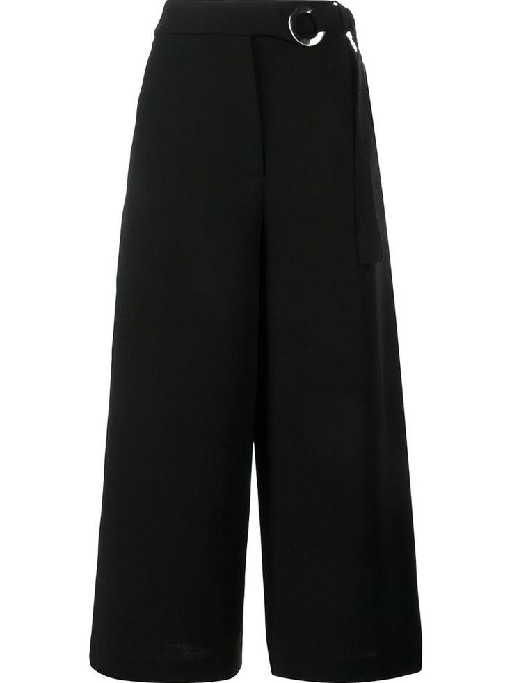 Proenza Femme Schouler Culottes En Laine Mélangée Noir Taille 0 Proenza Schouler tFgvw