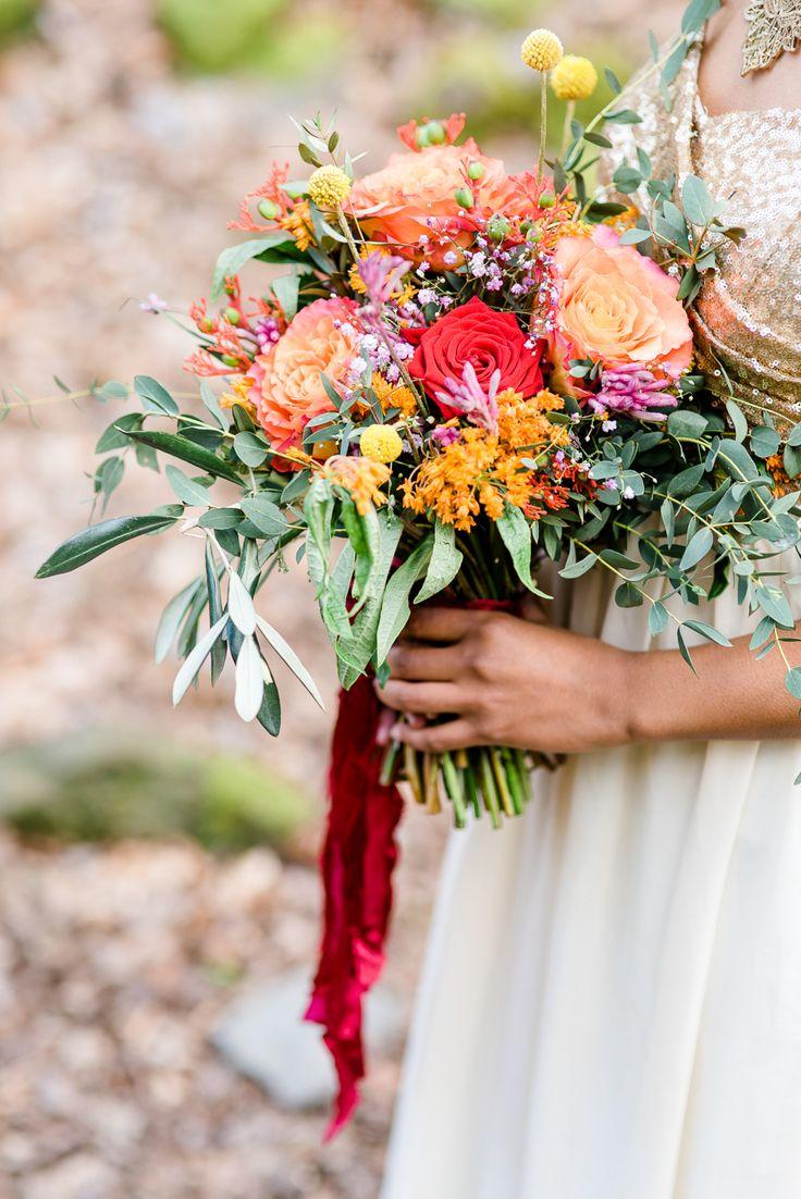 Sommerlicher Farbentraum in Rot und Beere   Hochzeitsblog The Little Wedding Corner