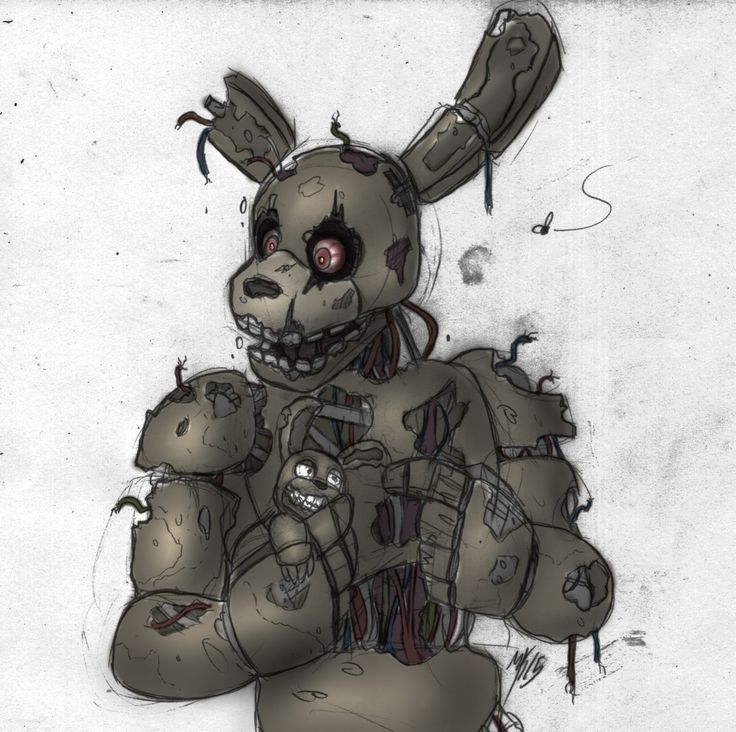 32 Best Springtrap FNAF 3 Images On Pinterest