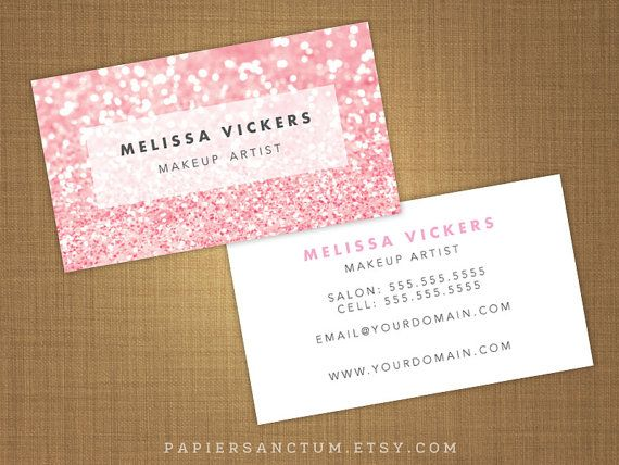 9 best makeup call card images on pinterest business cards makeup 250 custom glitter business card calling card by papiersanctum 3000 includes free ground shipping reheart Image collections