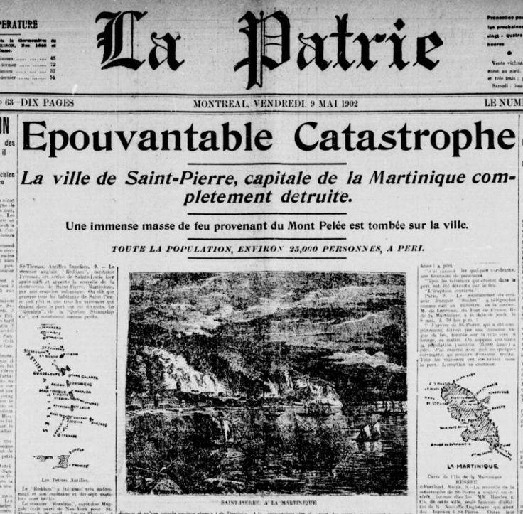 Il y a 112 ans, ce 8 mai, l'éruption du mont Pelée en Martinique faisait 30 000 morts. /via @alexandre_gagne pic.twitter.com/jhEW0gnjFh