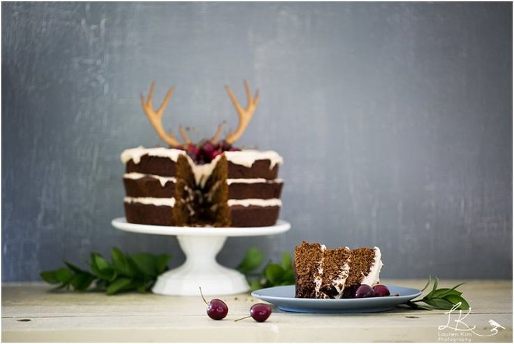 Wooden Antler Cake Topper by  Lovilee™ for sale on http://hellopretty.co.za