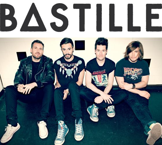 Bastille. Even more awesome because the one on the far right is wearing a Back to the Future t-shirt.