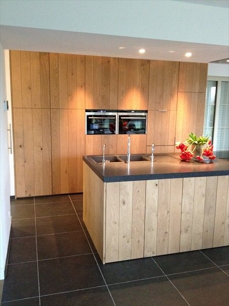 352 best Küchen images on Pinterest Contemporary unit kitchens - rückwand küche holz