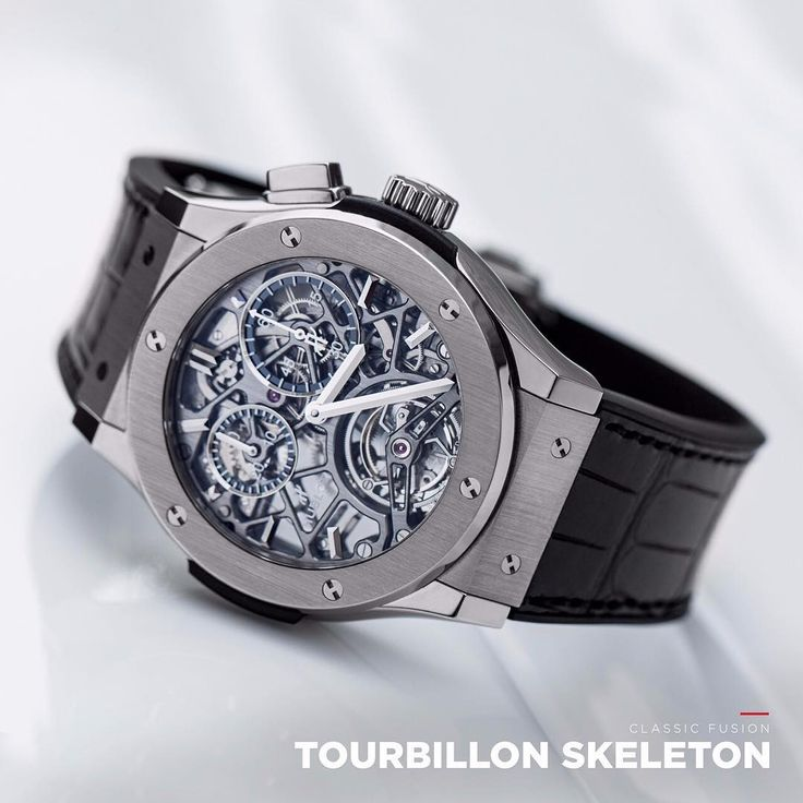 Revealing the micromechanical art, a Hublot skeleton movement is a moving sculpture.