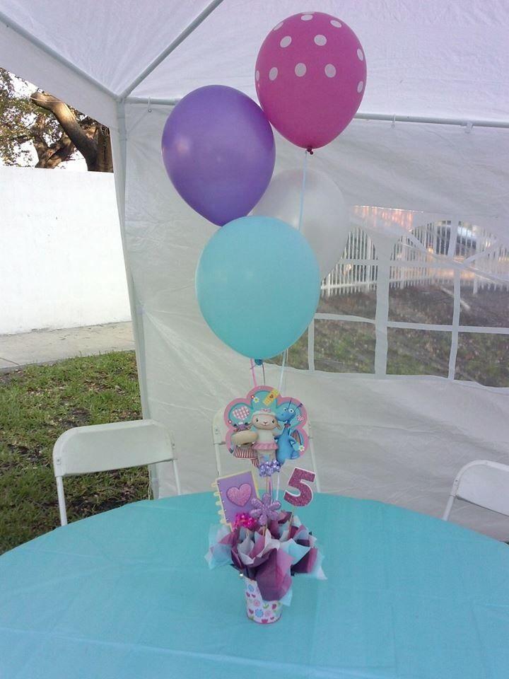 12 best doc mcstuffins party decorations images on pinterest doc centerpiece diy doc mcstuffins solutioingenieria Gallery