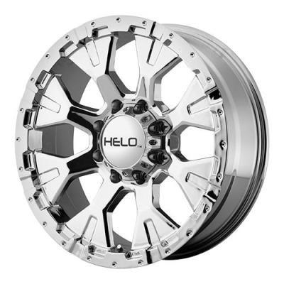 Helo Helo HE878, 17x9 Wheel with 8 on 6.5 Bolt Pattern - Chrome- HE87879080212N HE87879080212N Helo… #AutoParts #CarParts #Cars #Automobiles