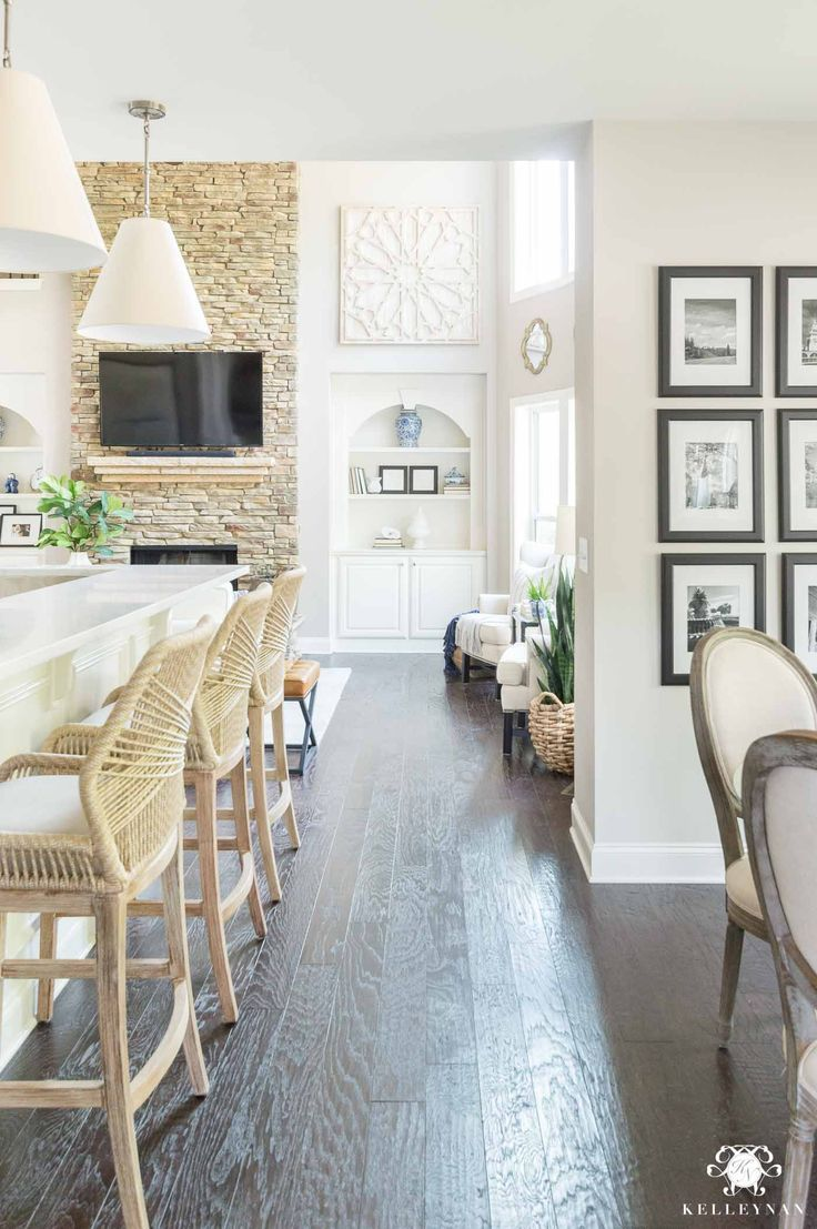 How to decorate and style a neutral open concept home