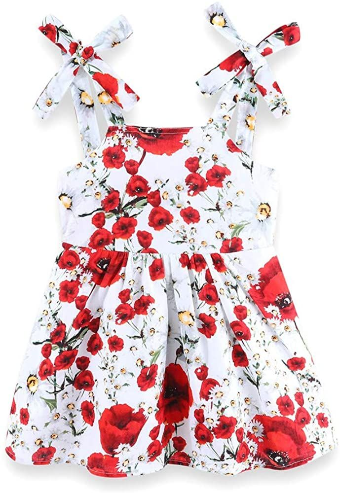 Mud Kingdom Girls Slip Dress Floral Chiffon Summer Holiday